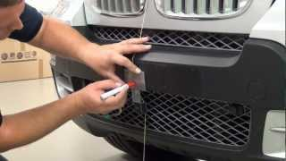 001 BMW X5 HCE-C500 TOPVIEW camera installation