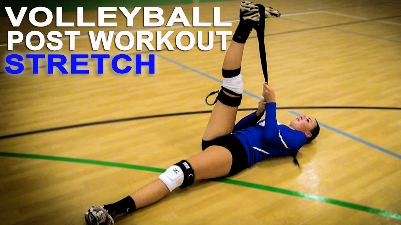 image Volleyball player in tight spandex short shorts