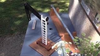 L'association des Amis de la tour Chappe d'Annoux (89) 2019, vingt ans de la rénovation de la tour.