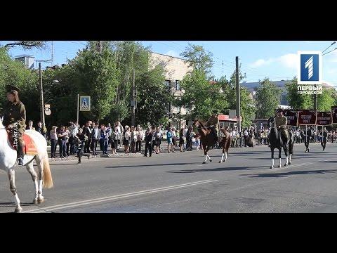 Конная кавалерия в Саксаганском районе