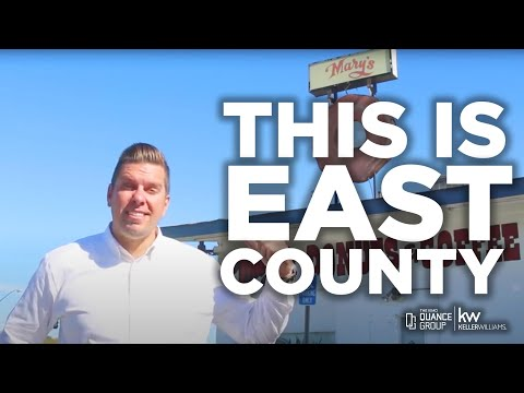 The Real East County Santee El Cajon Lakeside La Mesa San Diego California