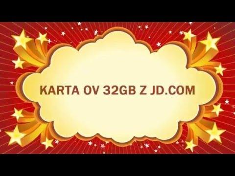 Zakupy w Chinach #2 -  Karta OV 32GB z  JD.com