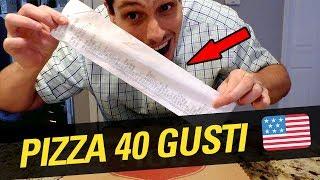 🍕🇺🇸 pizza americana con 40 gusti - napoli se la sogna 🍕⚽