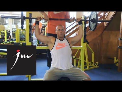 Joe's Gym: Shoulder Day | Joe Miller