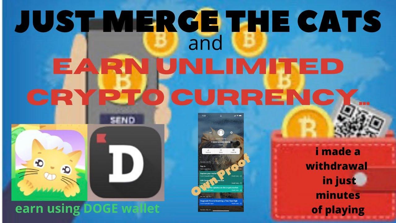 EARNINGAPP/CATGARDEN APP LEGIT Earning app/UNLIMITED CRYPTO CURRENCY/doge wallet