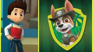 щенячий патруль на русском Игра для детей Трекер присоединяется к команде #Paw patrol