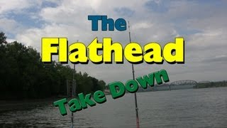 What a Flathead catfish bite looks like: The Take down