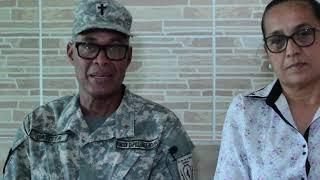 Missionários Geraldo Batista e Gláucia - Estágio CFM Julho 2021