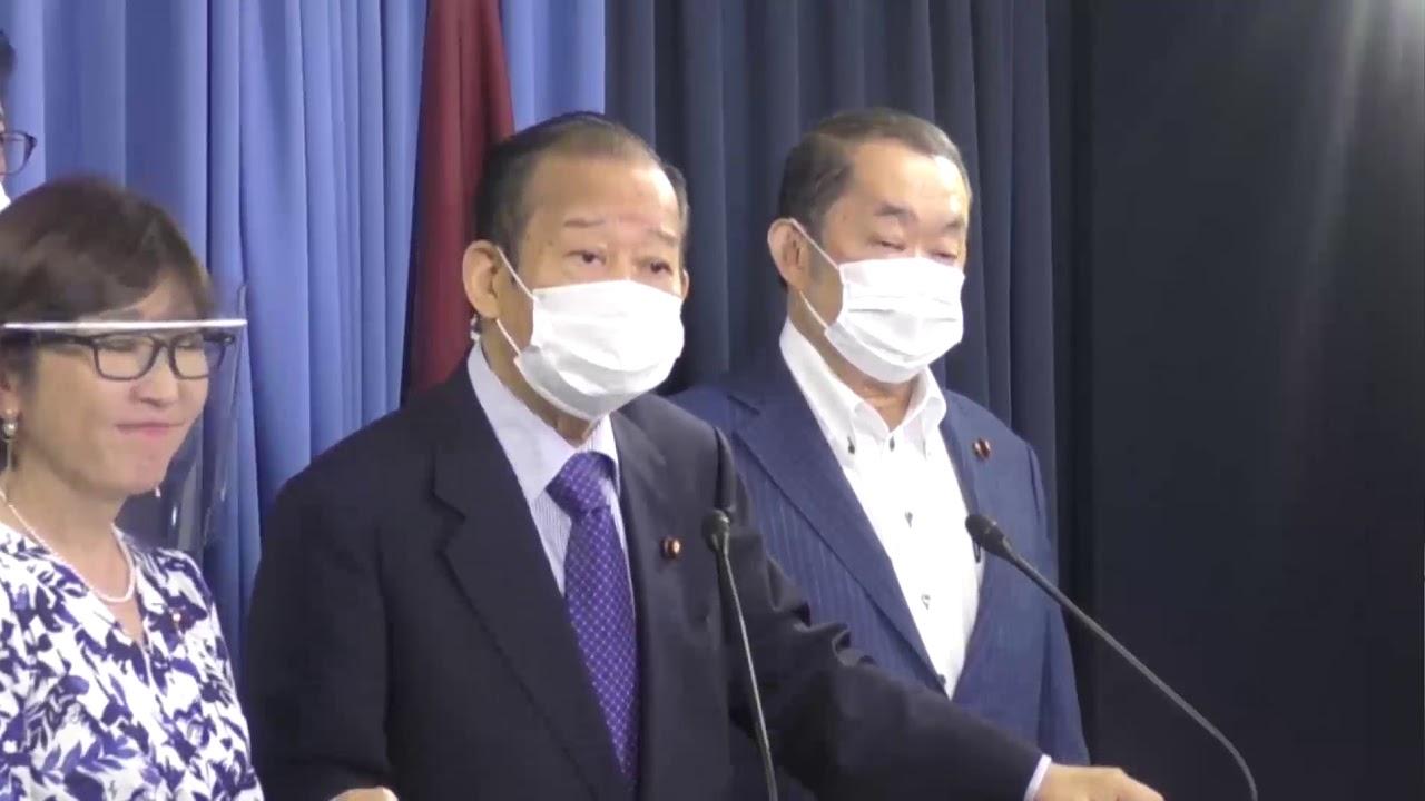 【役員会後】二階俊博 幹事長(2020.7.7)