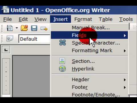 Learn To Change The Format Of Date Time In Openoffice Org In Hindi