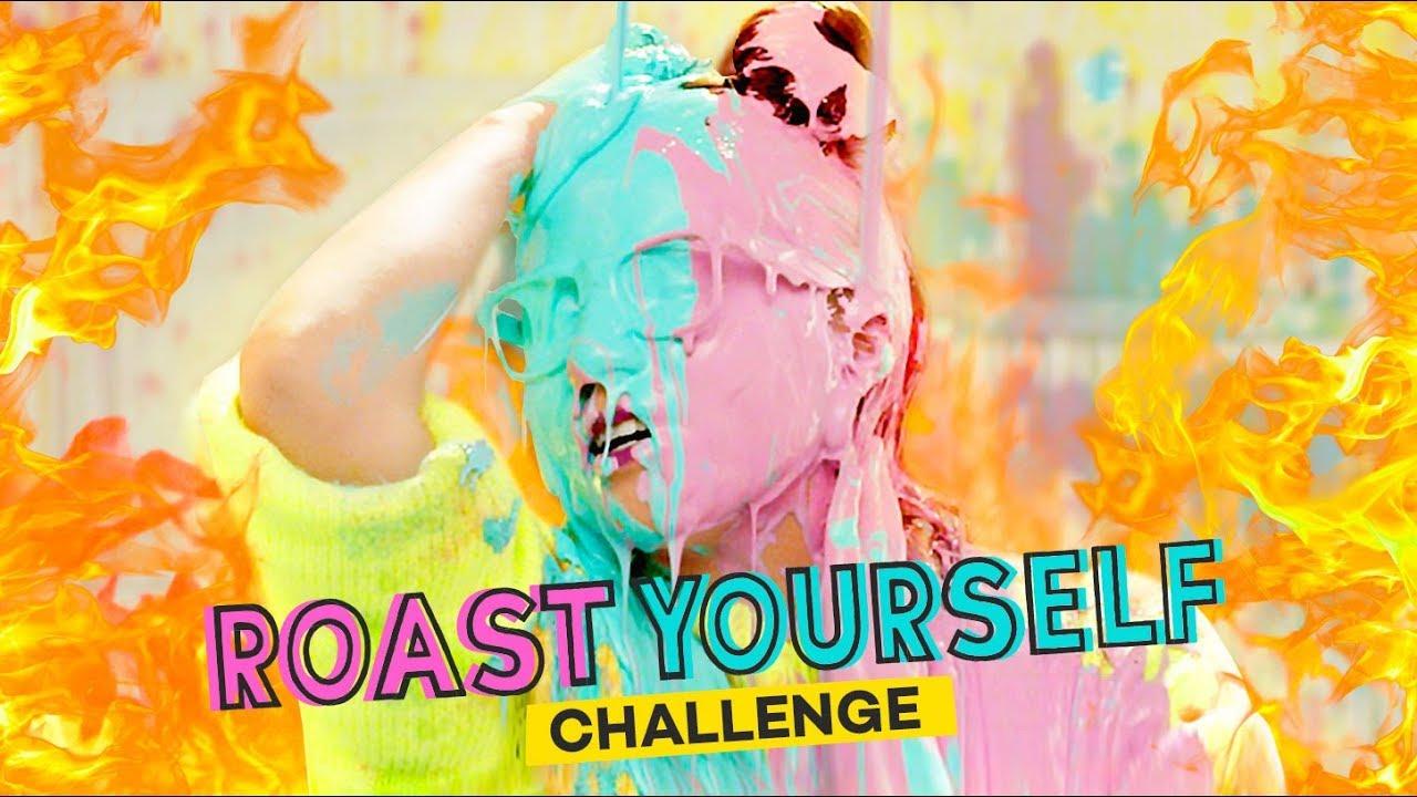 ROAST YOURSELF CHALLENGE · CRAFTINGEEK 2.0 ?