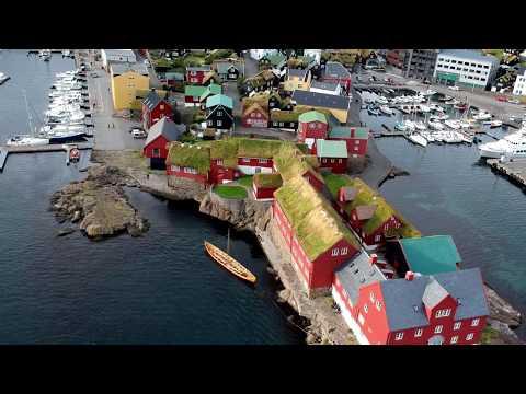 Iceland Road Trip - Faroe Islands - Tórshavn, Smyril Line Ferry Norröna by DJI Spark