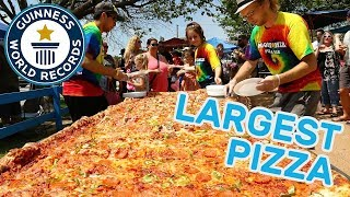 Largest commercially available pizza - Guinness World Records