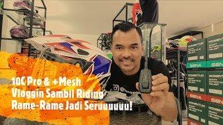 Sena 10C Pro & +Mesh Vlog Makin Rame Makin Seru