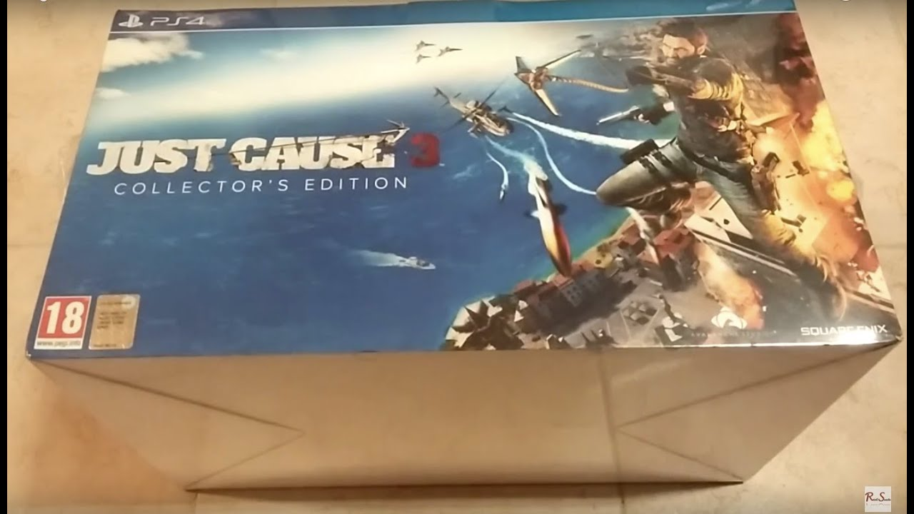 Just cause 3 collector's edition unboxing german youtube.
