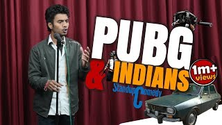 PUBG & Indians || Stand Up Comedy By Aditya Mehta