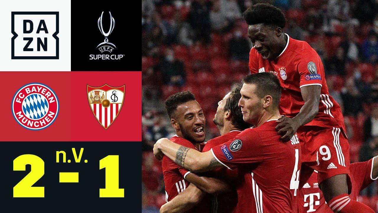 Martinez macht Bayern zum Quadruple-Sieger | FC Bayern - FC Sevilla 2:1 (n.V.) UEFA Supercup | DAZN