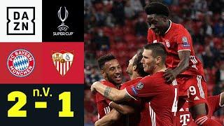 Martinez macht Bayern zum Quadruple-Sieger   FC Bayern - FC Sevilla 2:1 (n.V.) UEFA Supercup