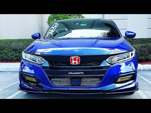 Exterior Mods Overview on the Honda Accord 2018-2019