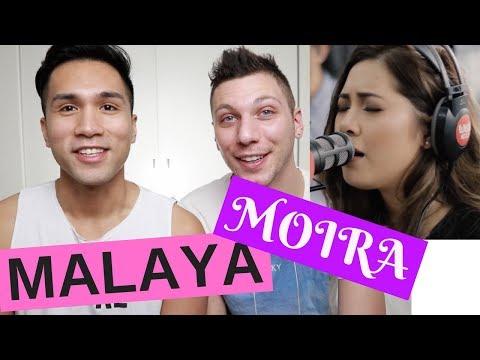 MOIRA DE LA TORRE SINGS MALAYA LIVE ON WISH 107.5 BUS