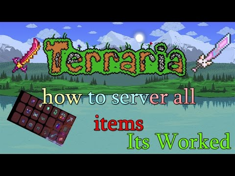 Terraria 1.3 How To Join Server Free Item In Pc {No Download} {NEW}