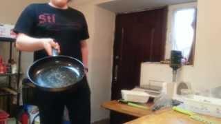 Mini Odcinek (Bonusowy) Pasji Gotowania - ...czyli nauka podrzucania jedzenia na patelnii