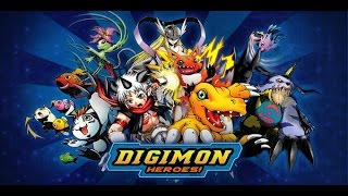 Обзор Digimon Heroes