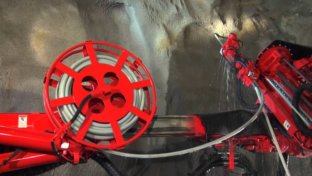 Sandvik DS421 - Pioneer in cable bolting