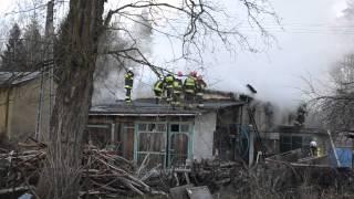 Pożar stodoły w Imielinie: [K. Świerkot, Dziennik Zachodni]