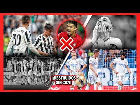 Así de RIDÍCULA Y TRISTE es la Juventus sin CR7 ¡Y también el MADRID!