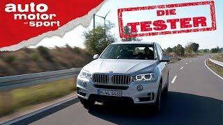 BMW X5 xDrive 40e: Elektronische Kurzstrecke - Die Tester | auto motor und sport