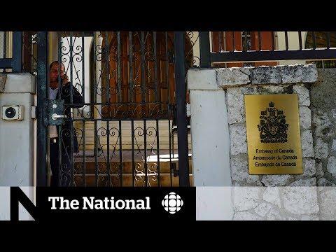 Canada pulls diplomats' families from Cuba