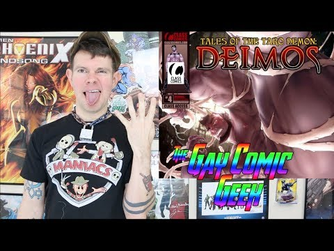 Tales Of The Taro Demon Deimos #4 - Class Comics Gay Comic Book Review (SPOILERS)