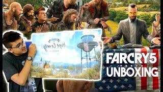 Far Cry 5 Pre-Order Deluxe Edition Unboxing with Exclusive FC 5 T-Shirt (PS4)