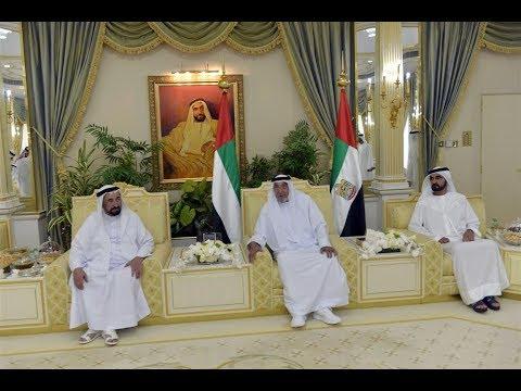 رئيس الدولة يستقبل التهاني من حكام الامارات وأولياء العهود ونواب الحكام بعيد الفطر