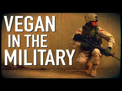 How to Be Vegan in the Military | Sgt. Alex Contreras