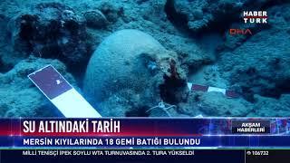 Su altındaki tarih