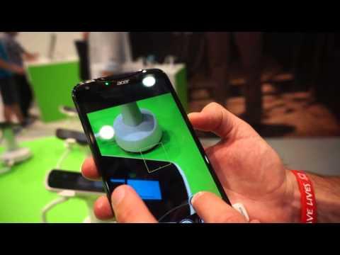 Acer Liquid S2 hands-on demo