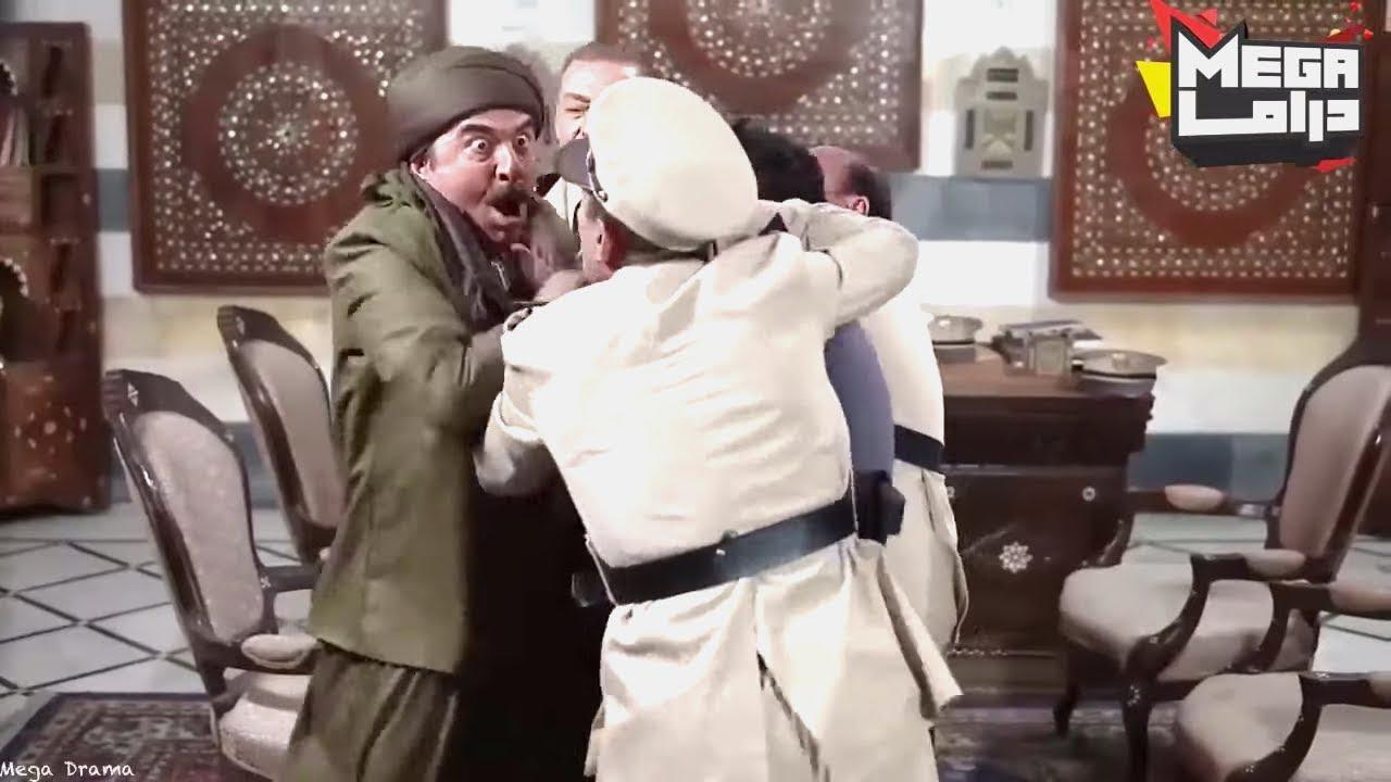 العكيد مسك غريمو بالمخفر وحتى الشرطة ماقدرو يردوه عنو - مسلسل طوق البنات