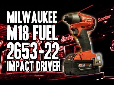 Milwaukee M18 FUEL 2653-22 Impact Driver
