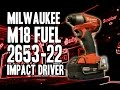 Milwaukee M18 FUEL 2653-22 Impact Driver