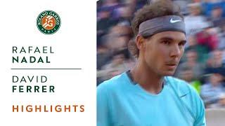 Rafael Nadal v David Ferrer Highlights - Men's Quarterfinals 2014 - Roland-Garros