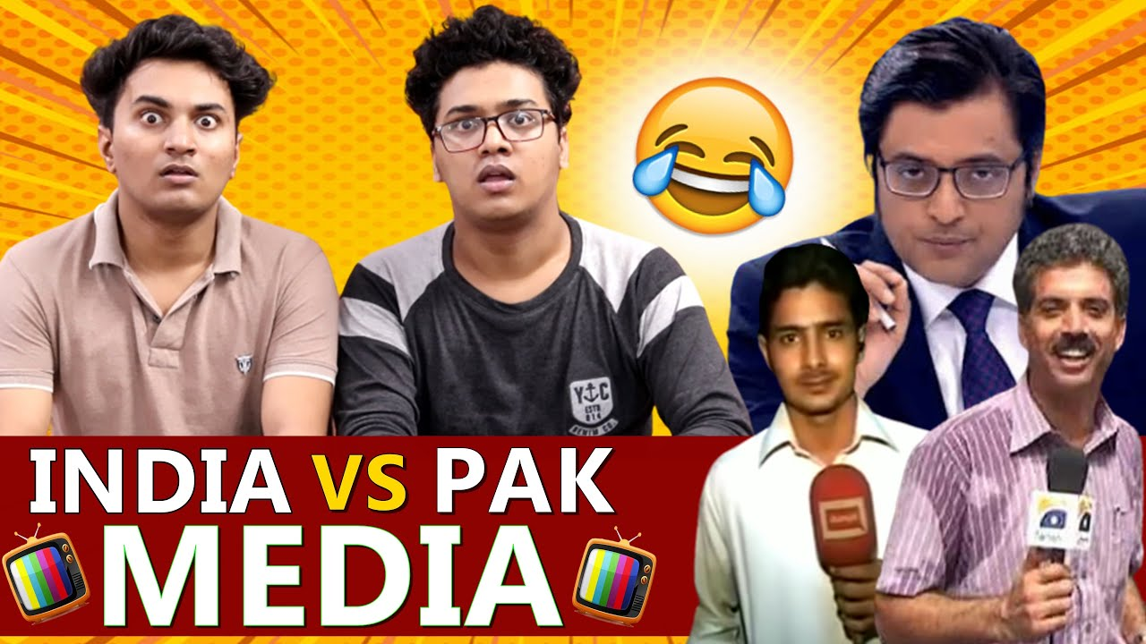 INDIA vs PAK MEDIA | Who is Funniest ? | Shetty Brothers