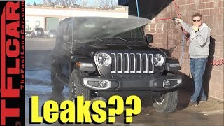 Does it Leak? We Demo and Pressure Test the 2018 Jeep Wrangler