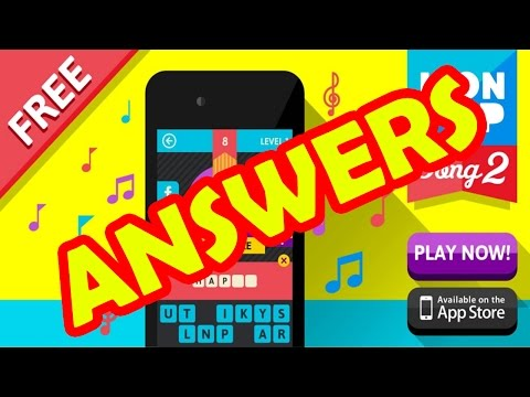 Icon Pop Song 2 Level 4 - All Answers - Walkthrough ( By Alegrium )