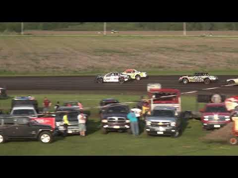IMCA Stock Car Heat 3 Benton County Speedway 6/2/19