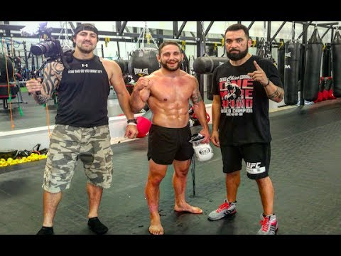 Chad Mendes Typical Thursday Training Day| UFC Fight Preparation