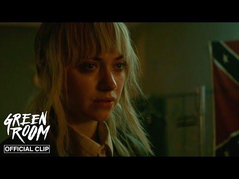 Green Room | Grab The Machete | Official Clip HD | A24