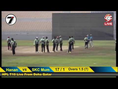 SKC Mumbai Goa Vs Hanan Qatar HPLT10 Qatar 2016 Live from Do