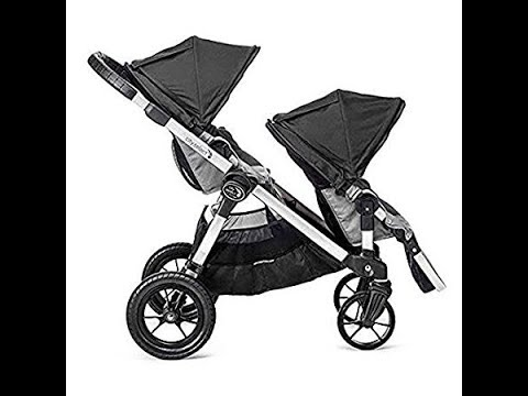 Baby Jogger 2017 City Select Stroller With Second Seat Black Grey